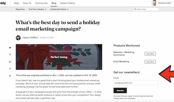 Best practices for creating email opt-ins that will grow your subscriber list