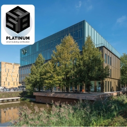 First platinum certified smart building awarded to EDGE Olympic Amsterdam