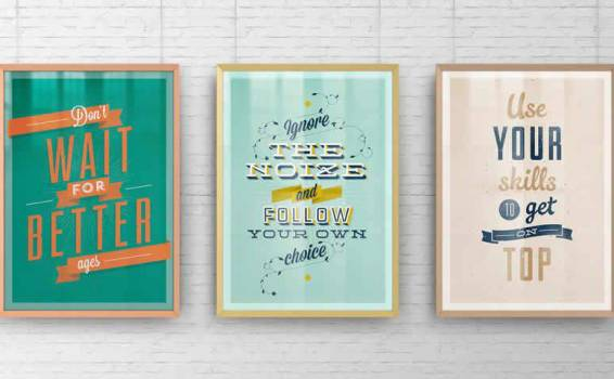 30 Poster Frame Mockup Photoshop PSD Templates for 2021