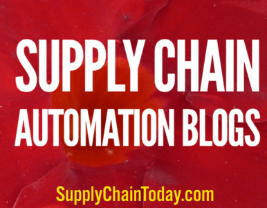 Collection of Supply Chain Automation Blogs (AI, Blockchain, IoT)