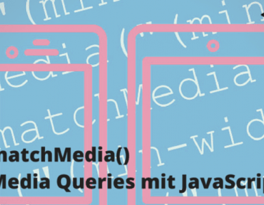 How to use Media Queries in JavaScript with matchMedia