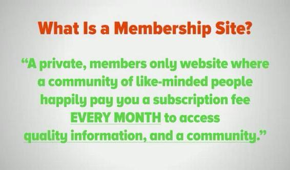 Membership Sites A Super Business Model For Recurring Income