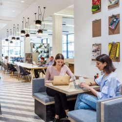 People working in fully open plan spaces are generally fitter and less stressed