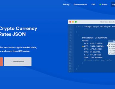 Bring Real-Time Cryptocurrency Rates to Your Website with coinlayer Sponsored
