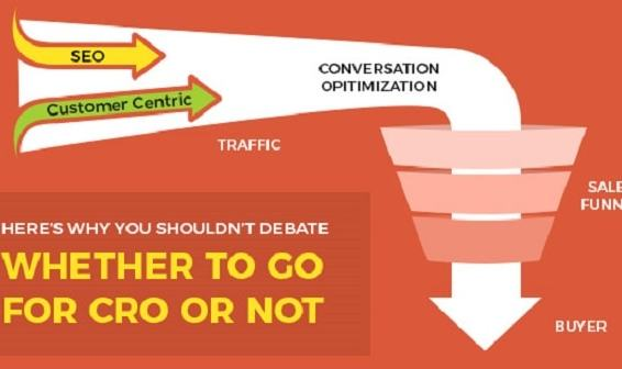 Conversion rate optimization: Why you shouldn't debate whether or not to go for CRO