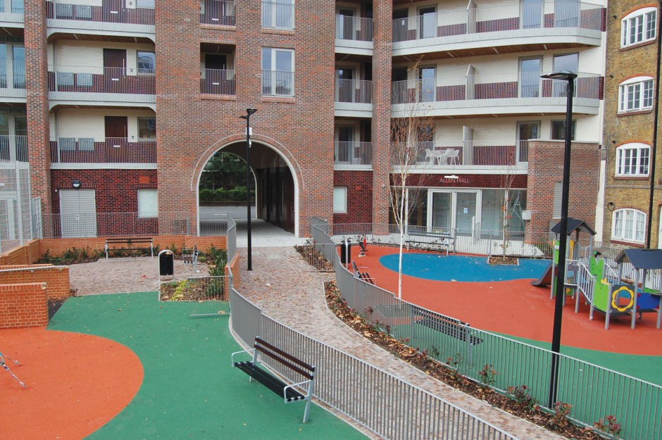 The Bourne Estate Cladding 3