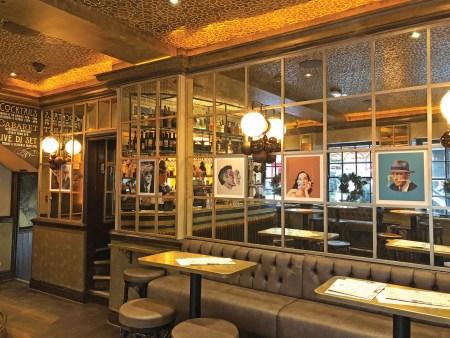 The Compton Cross cocktail bar, Soho, London
