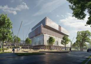 Schmidt Hammer Lassen Architects_Solvay HQ_Entrance_SM