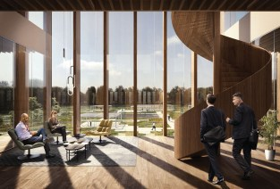 Schmidt Hammer Lassen Architects_Solvay HQ_Interior roof park_SM