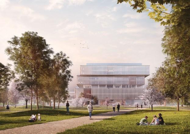 Schmidt Hammer Lassen Architects_Solvay HQ_Quad Campus_Main image_SM