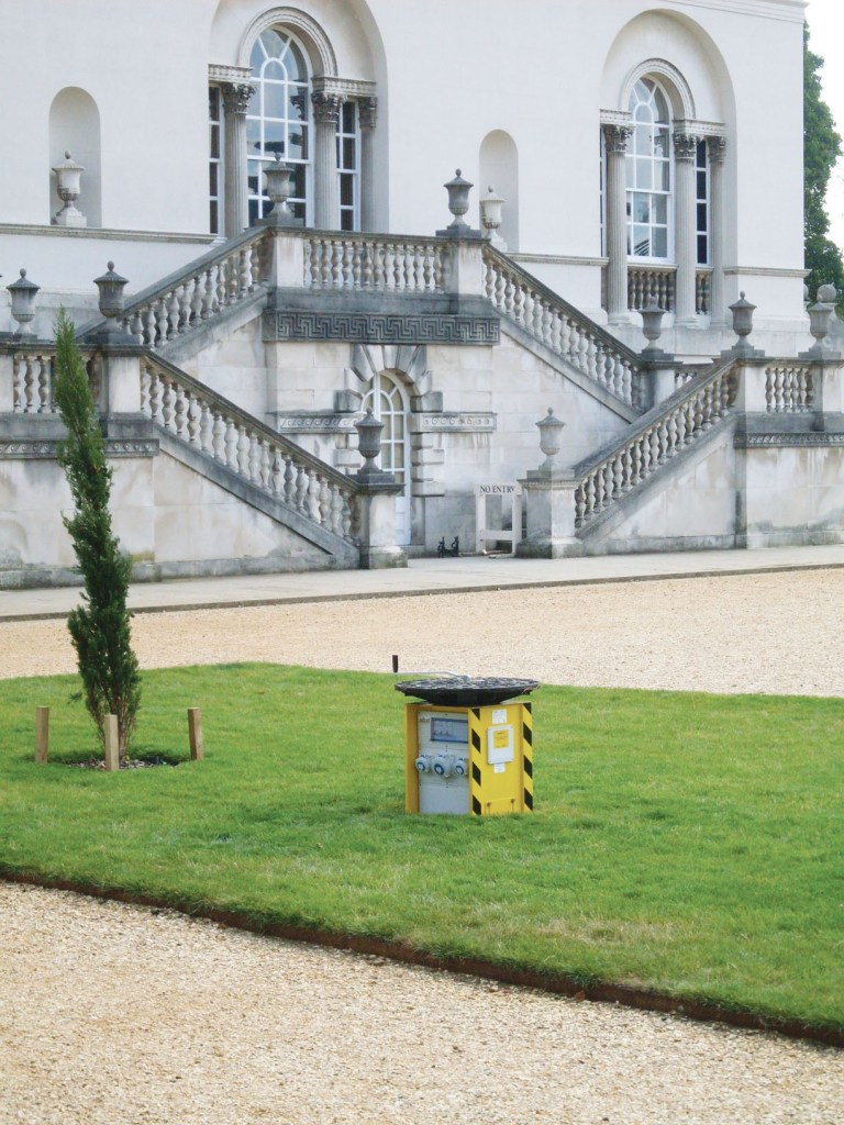 Chiswick House featuring fully retractable power unit from Pop Up Power Supplies®
