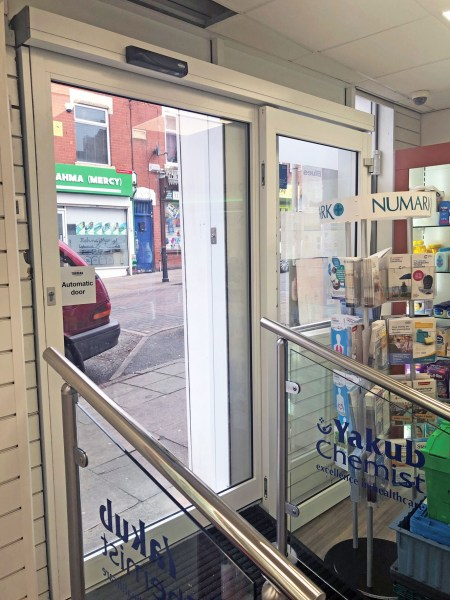 A healthcare hub in the centre of Leicester, Yakub Chemist, has recently benefit from a complete refurbishment with the help from Tormax