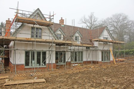 Magply boards carry K-Rend finish to complete exclusive Surrey housing developement