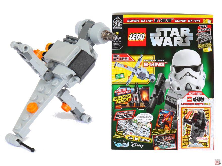Review Lego Star Wars Magazin Nr 50 August 2019 Mit B