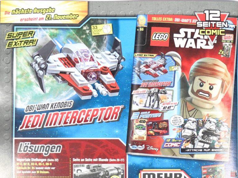 Preview of the LEGO Star Wars magazine No. 66 |  © Brickzeit