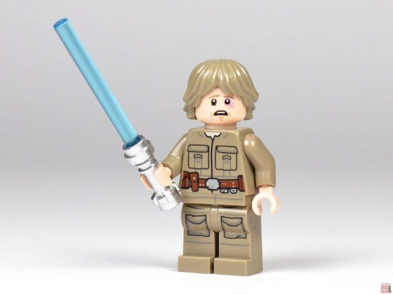 Bespin Luke Skywalker with lightsaber and blue eye |  © Brickzeit