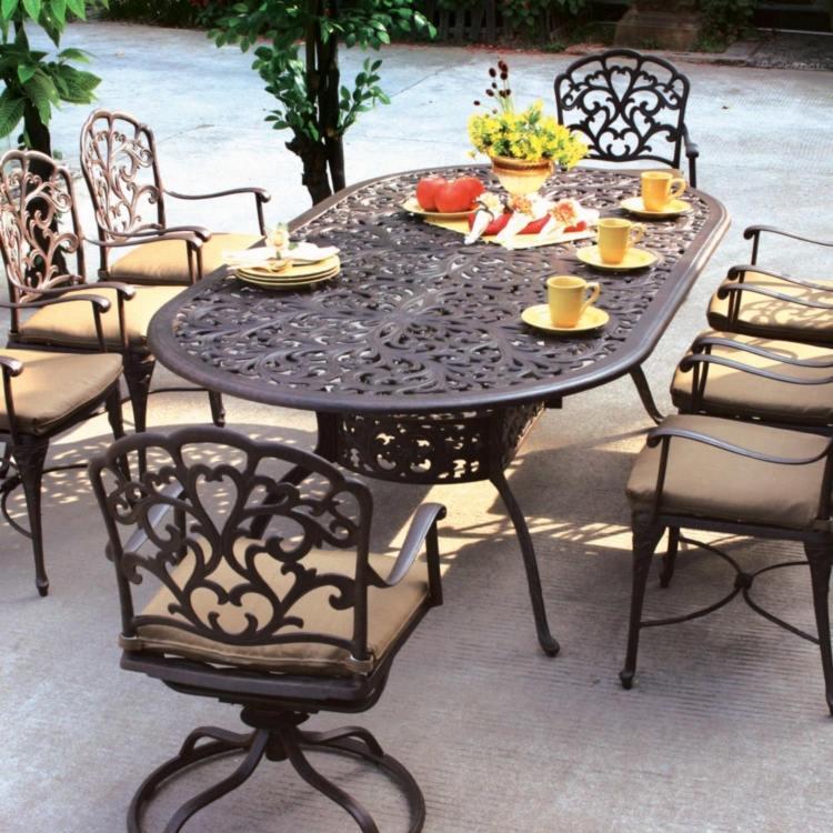 Table Jardin Fer Forge HomeEzy