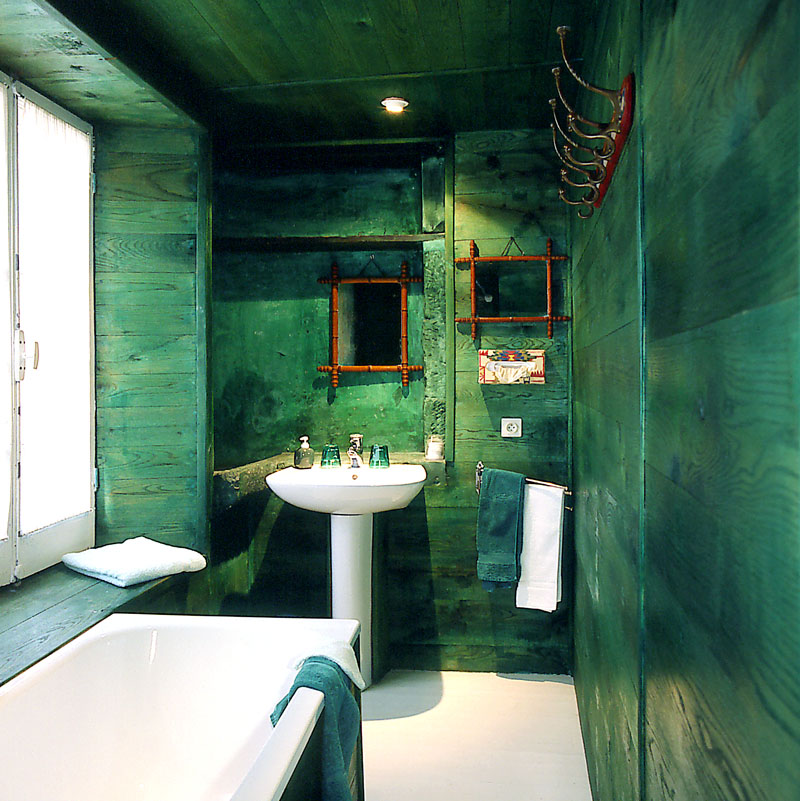 La Salle De Bain Verte Idees Deco Et Photo Bricobistro
