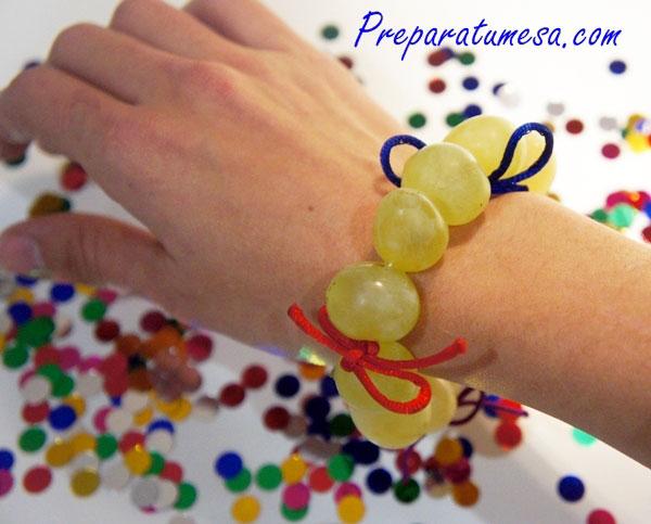 pulsera de uvas para Nochevieja