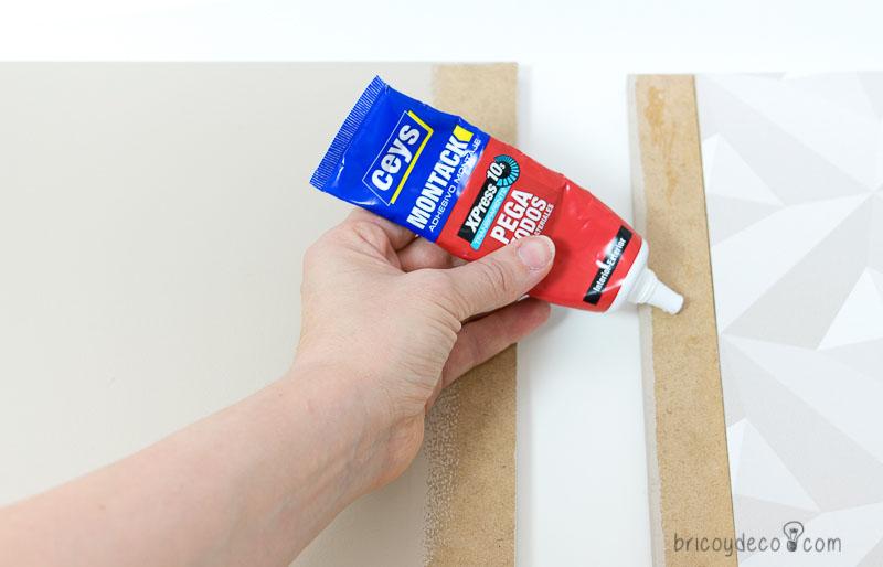 cómo hacer una mesa auxiliar DIY paso a paso