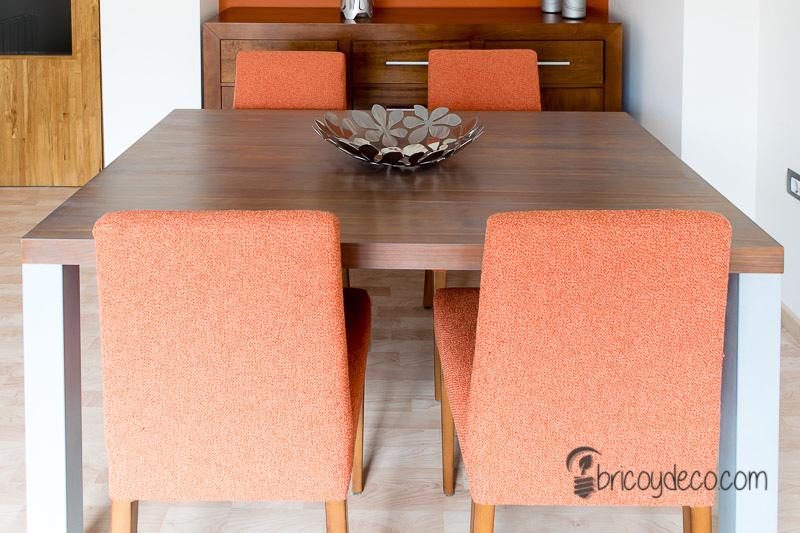 cómo renovar una mesa de madera con lasur