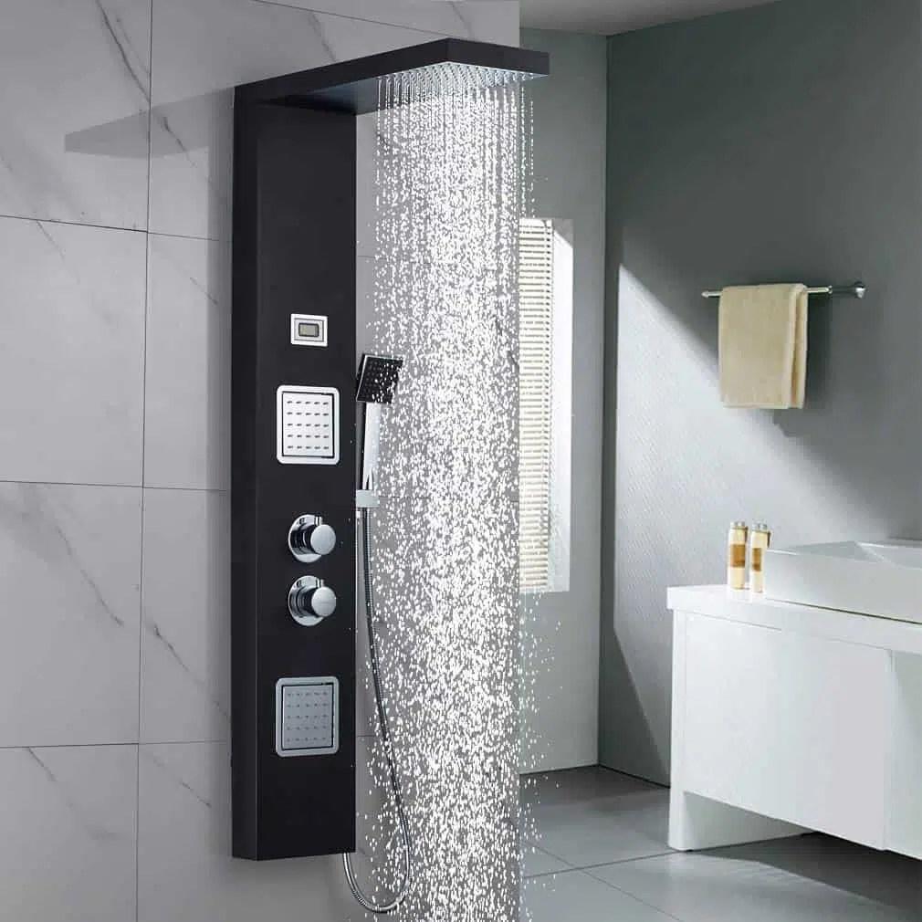 meilleures colonnes de douche le
