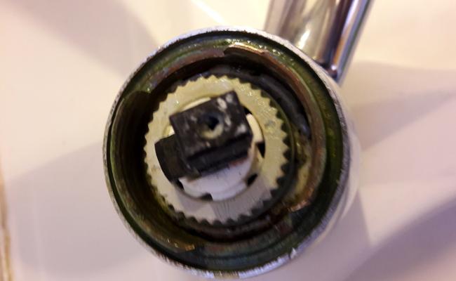 robinet mitigeur qui fuit