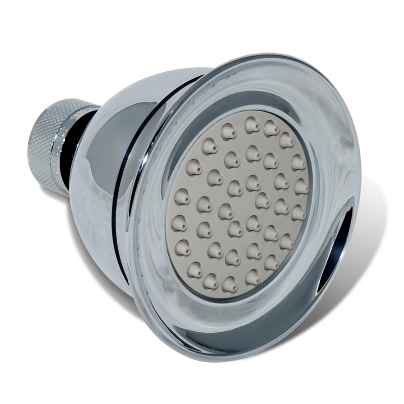 Eco Fit Low Flow And Eco Shower Head 1 25 Gpm Bricor Shower Heads