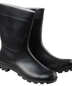 Botas Goma Bajas Negras Nº 45 (Par)