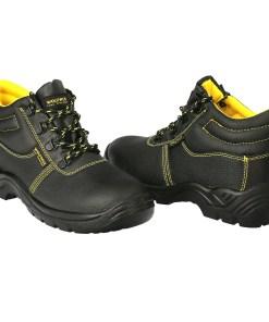 Botas Seguridad S3 Piel Negra Wolfpack  Nº 39 Vestuario Laboral