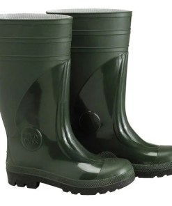 Botas goma altas verdes Seguridad