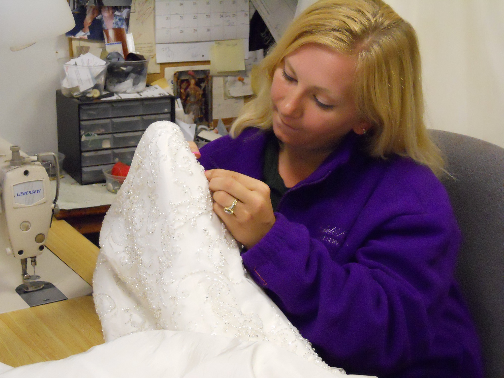 Wedding Gown Cleaning & Preserving