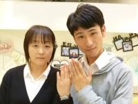 ハニーブライドの結婚指輪をご購入(佐野市/J様・M様)