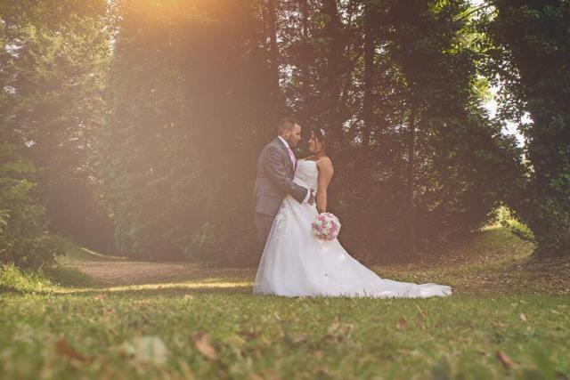 Cerri wedding day bouquet photo