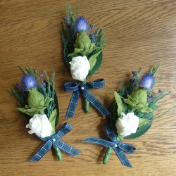 scottish buttonhole