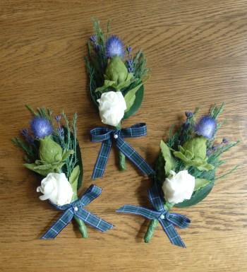 scottish buttonhole