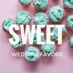 Sweet wedding favours