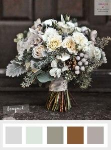 Wedding flowers anemonie