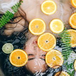 orange skin hydration treatment