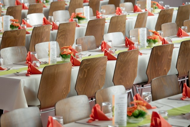 Chairs wedding layout