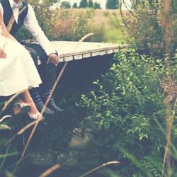 Wedding shoot bridge