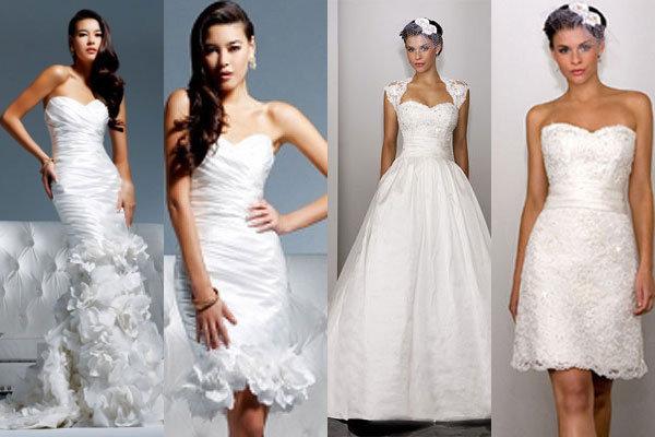 Trend We Love: 2-in-1 Wedding Gowns