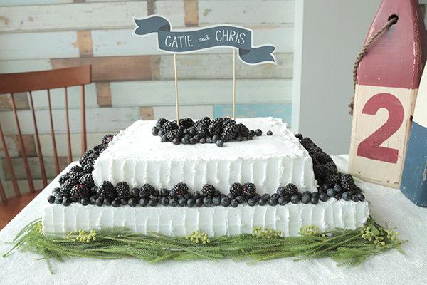 5 DIY Wedding Cake Ideas
