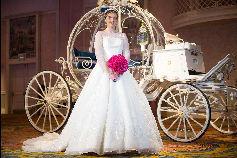 First Look Alfred Angelos New Cinderella Wedding Gown