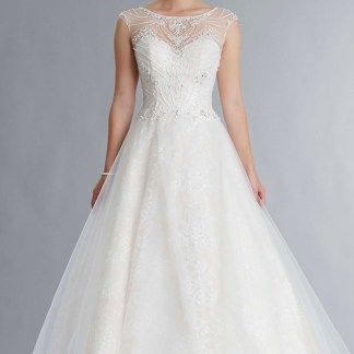 New Orleans bridal ballgown by Tiffany's Jessica grace collection