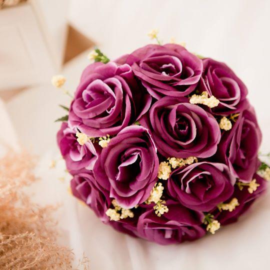 新娘捧花與乾躁花