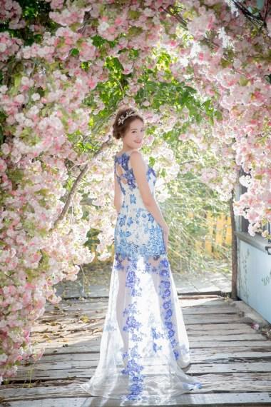 台北新娘造型 乾淨髮型妝感透亮