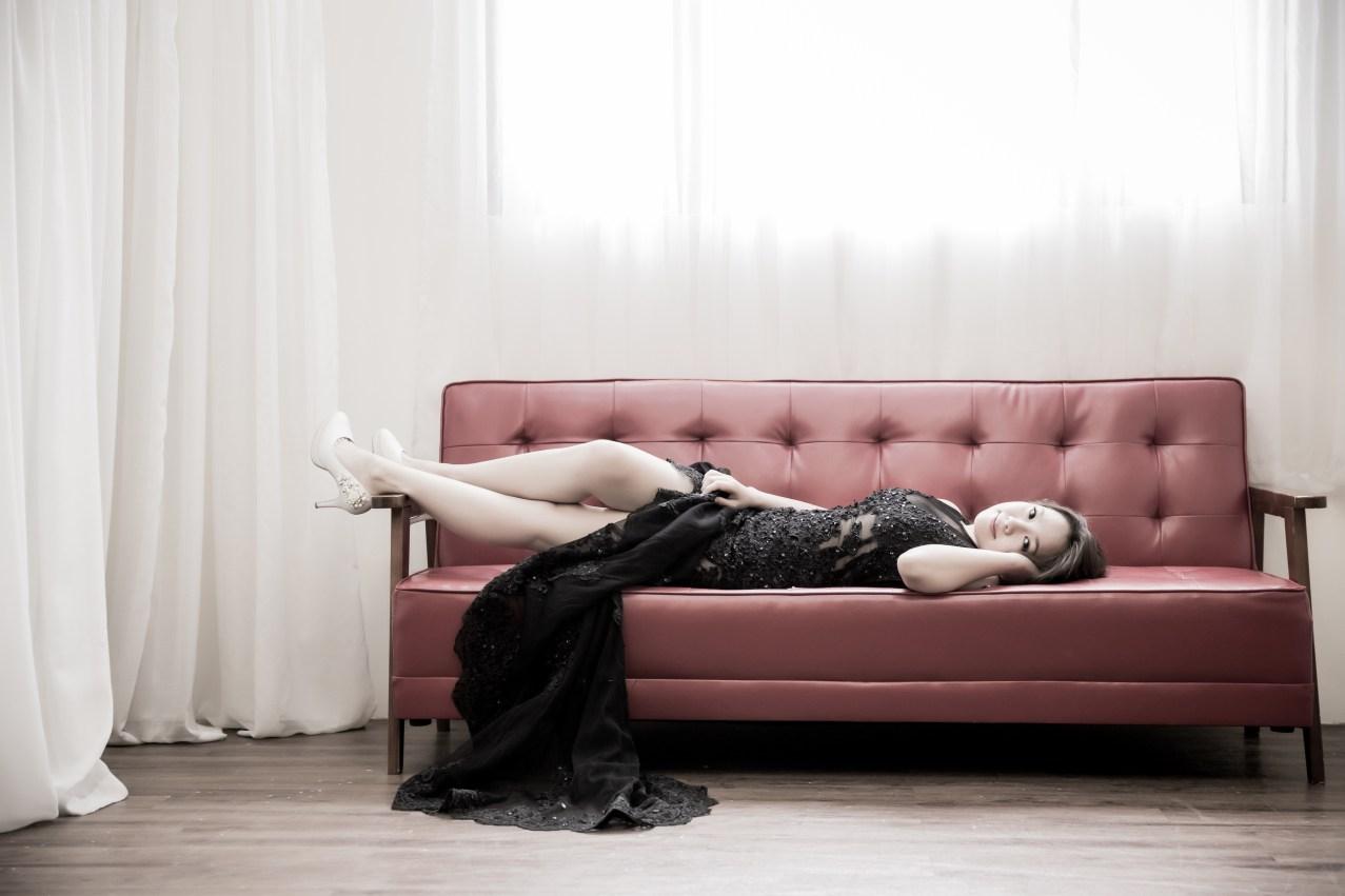 時尚新娘造型|甜美玫瑰妝|通透底妝-新秘Paggie