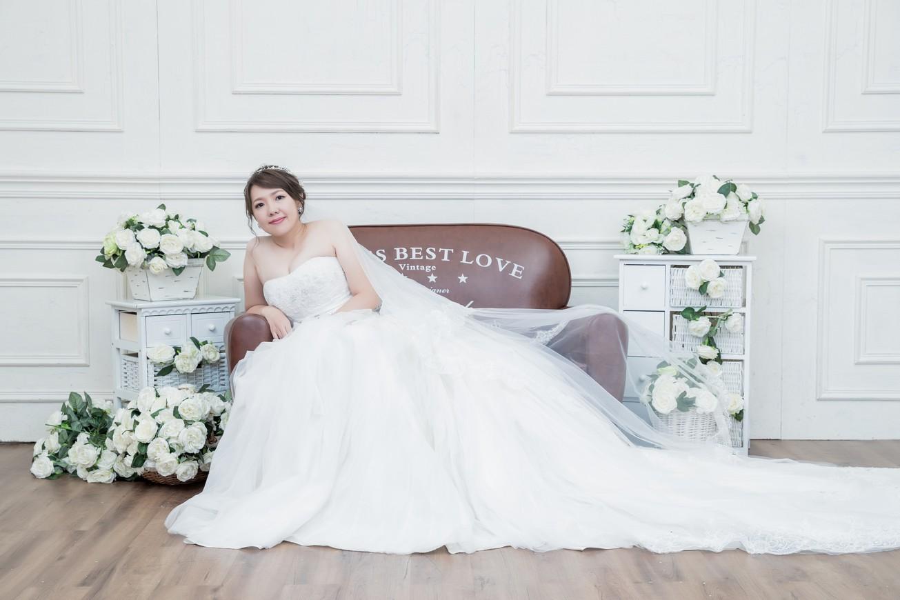 新秘推薦-日系森林|浪漫公主編髮|玫瑰色眼影|韓式水波紋