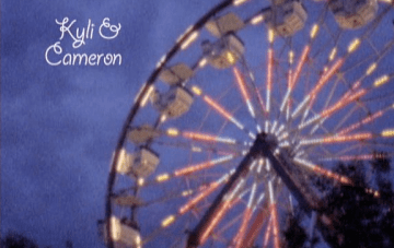 A Super 8mm Amusement Park Love Story {First Kiss Films}